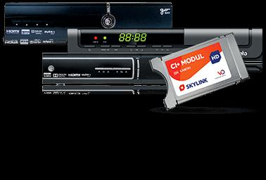 Zařízení pro příjem satelitní televize s certifikací Skylink READY
