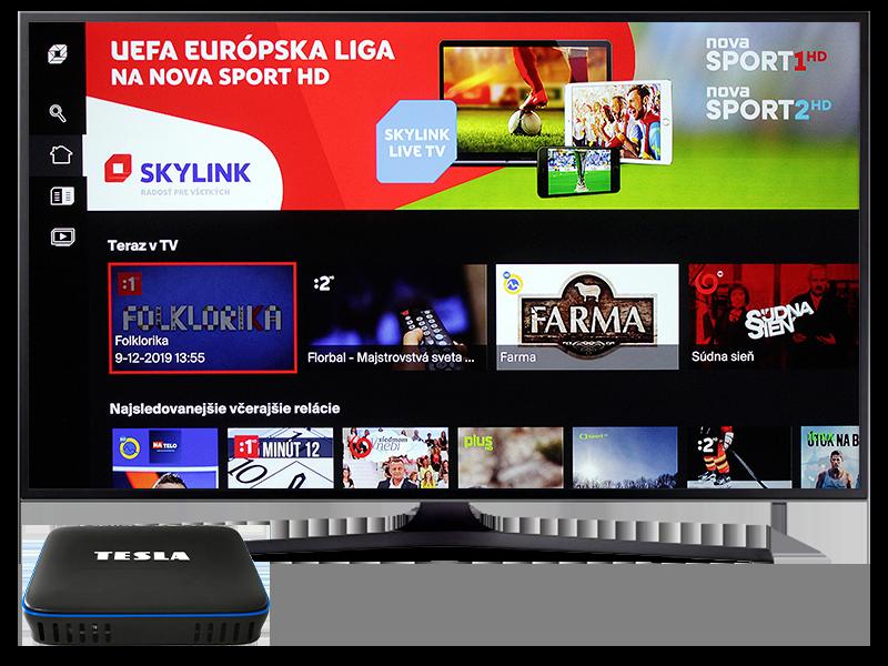 Internetová televízia Skylink Live TV