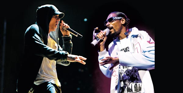 Snoop Dogg a Eminem