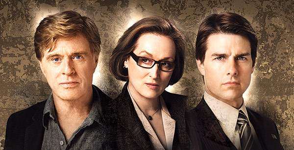 Robert Redford, Meryl Streep a Tom Cruise