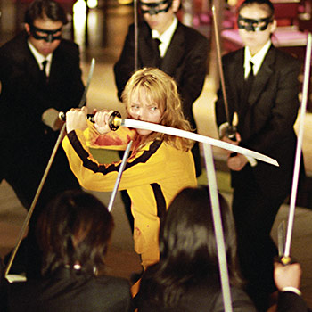 Akčný thriller Kill Bill